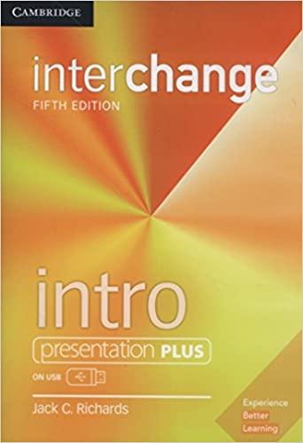 interchnage intro presentation plus